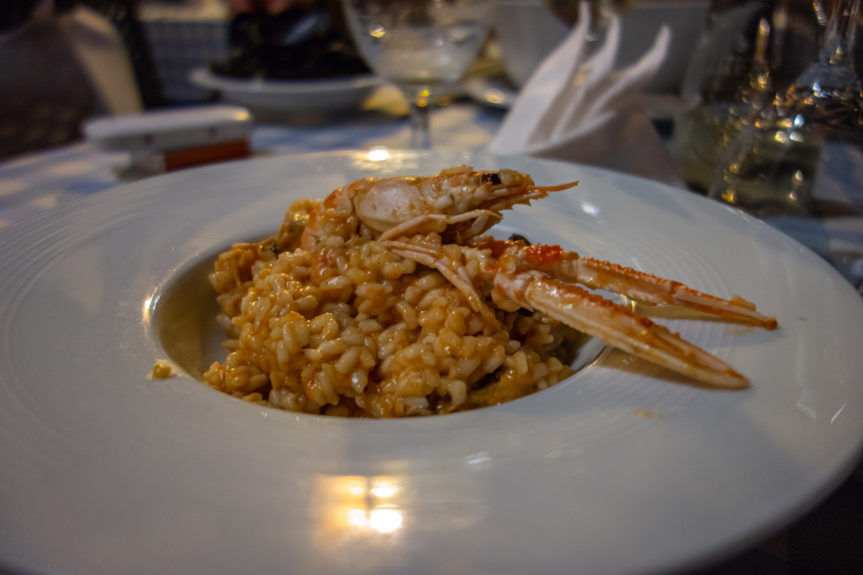 Risotto futi di mare (rizoto s mořskými plody)