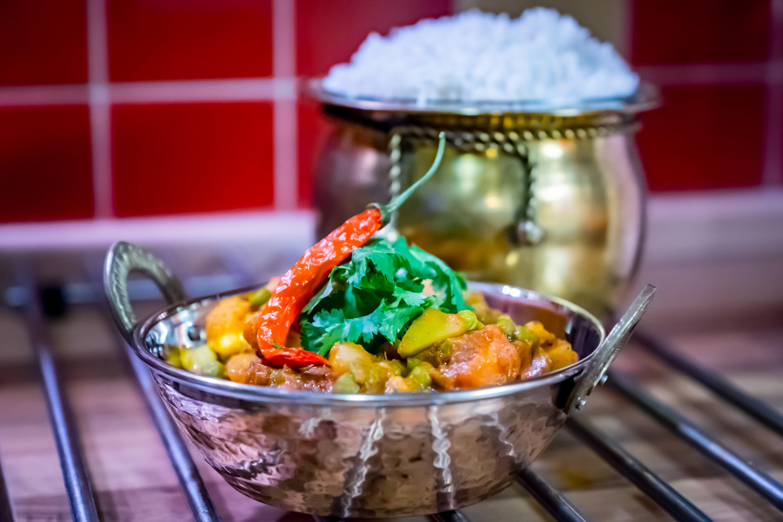 Sabji aneb indické zeleninové kari