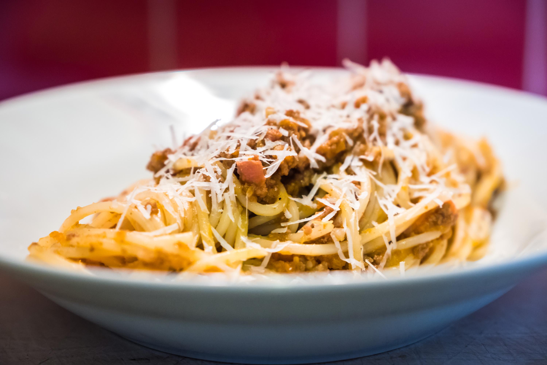 Rychlé boloňské špagety