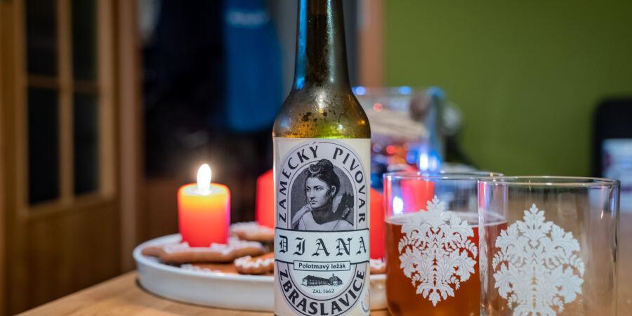 Diana 1° z pivovaru Zbraslavice