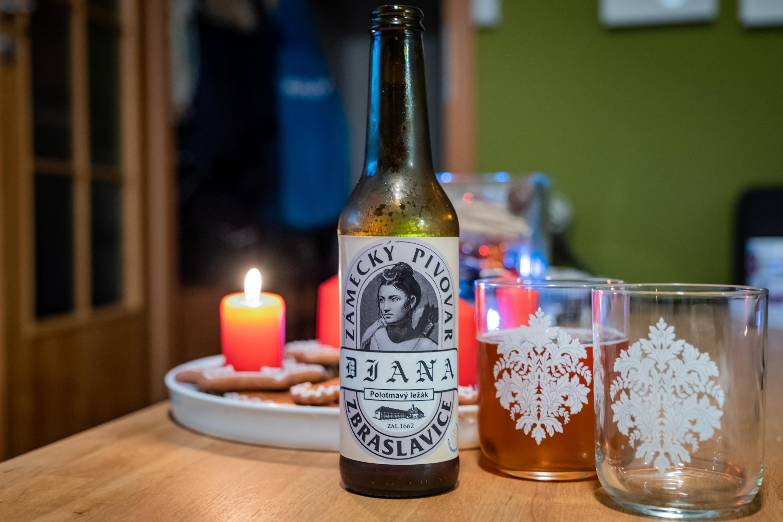 Diana 11° z pivovaru Zbraslavice