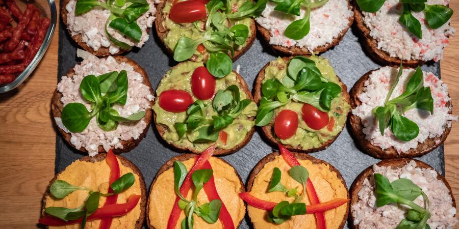 Zdravé chlebíčky