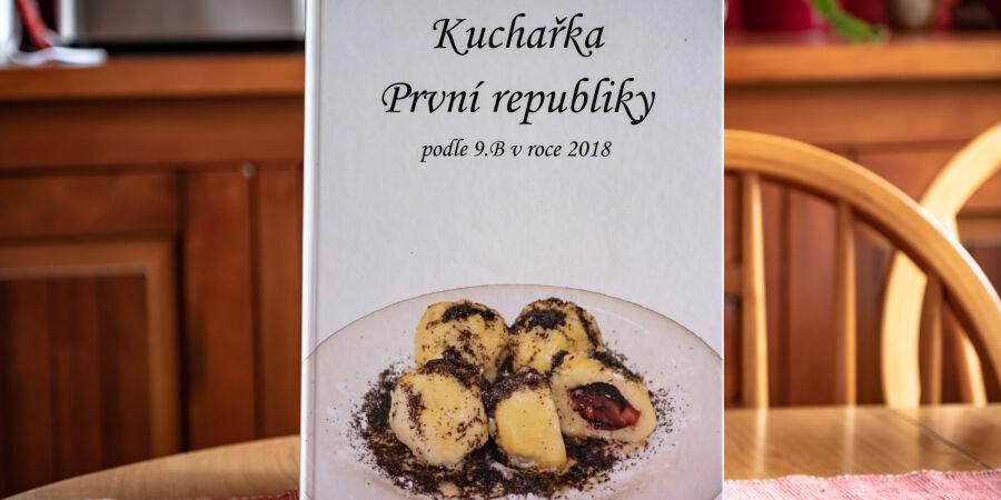 Kuchařka První republiky podle 9.B v roce 2018