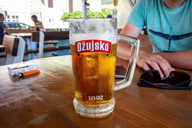 Chorvatské pivo Ojžusko