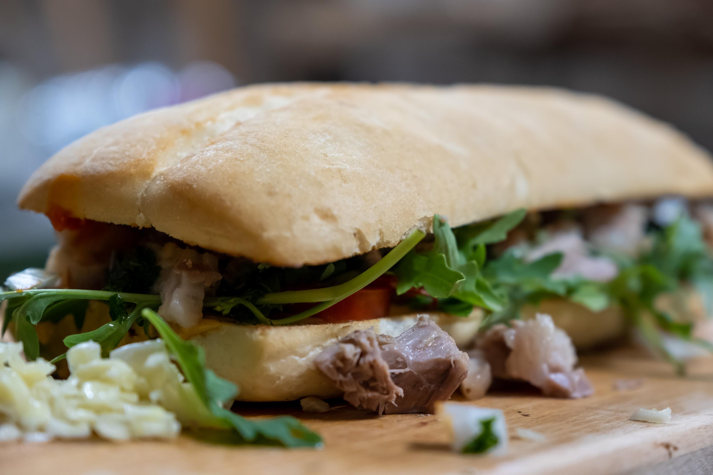 Sandwich z vepřového kolene
