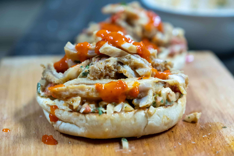 Sandwich z drštěk