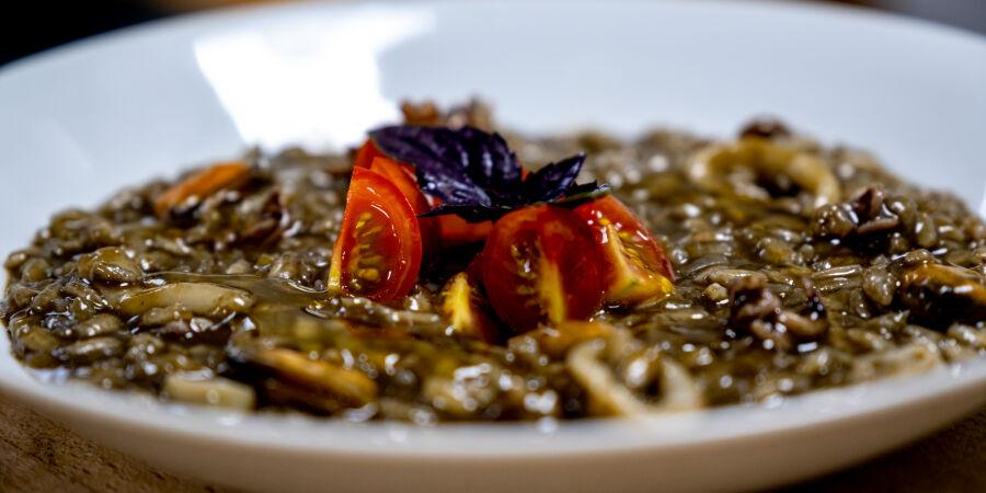 Risotto nero - černé sépiové rizoto