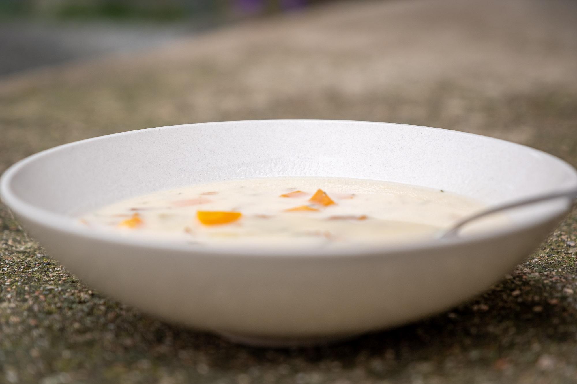 Krkonošská polévka z lišek
